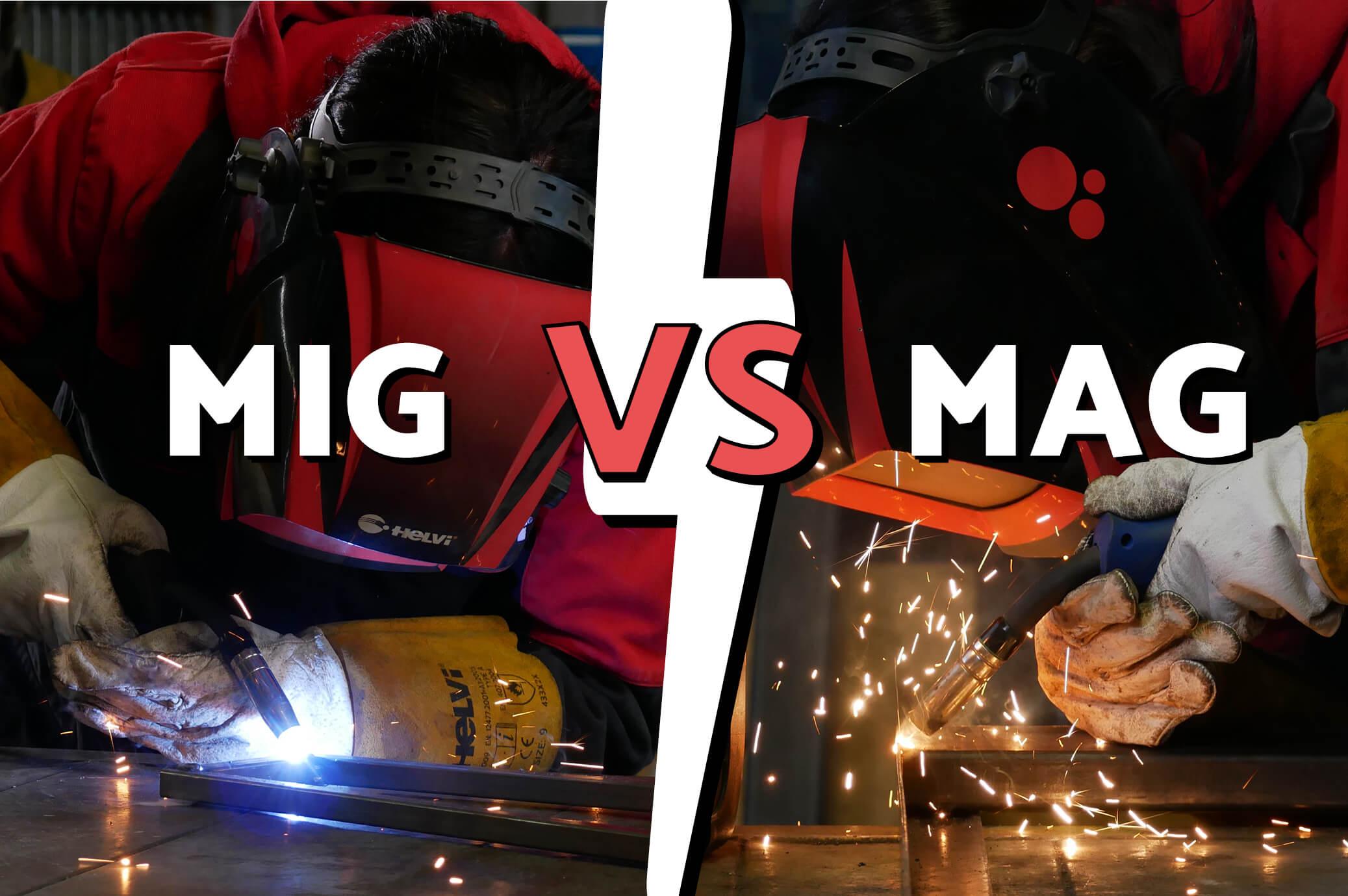 Differenza tra MIG e MAG